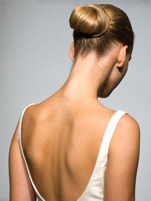 прическа балерины фото